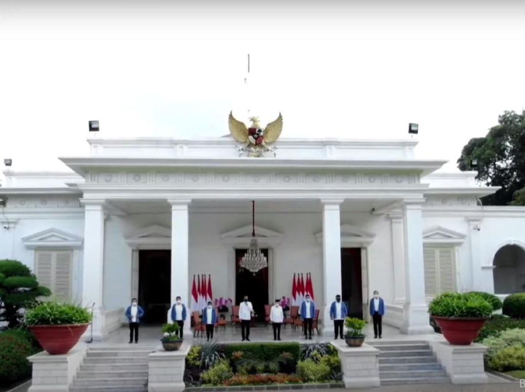 Ragam Janji Para Menteri Baru Usai Dilantik Jokowi