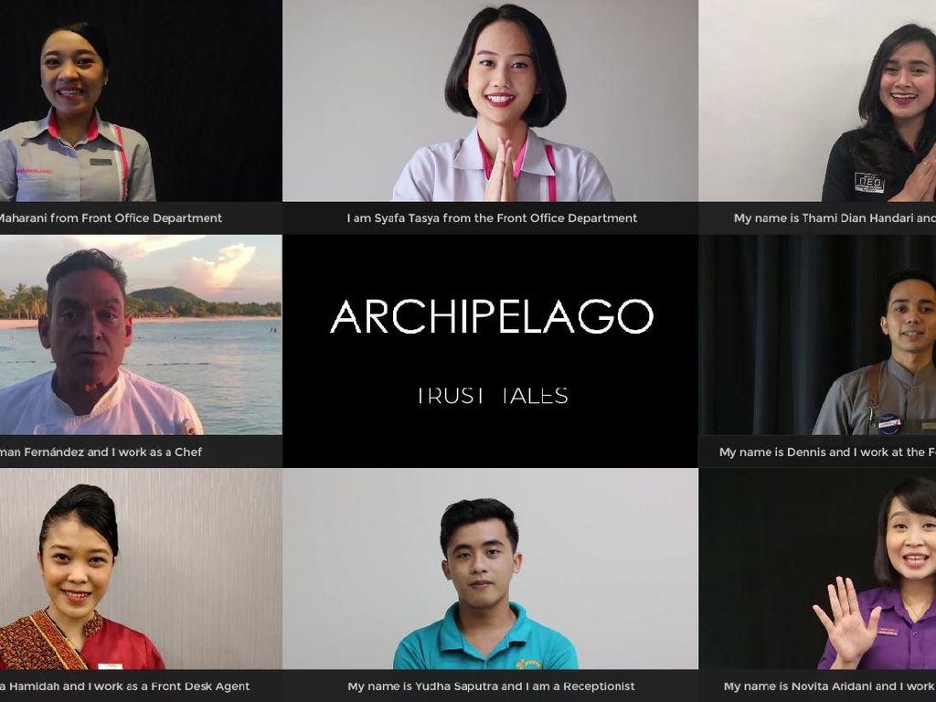 Archipelago International Tebar Pesan Menyentuh dari Pekerja Hotel