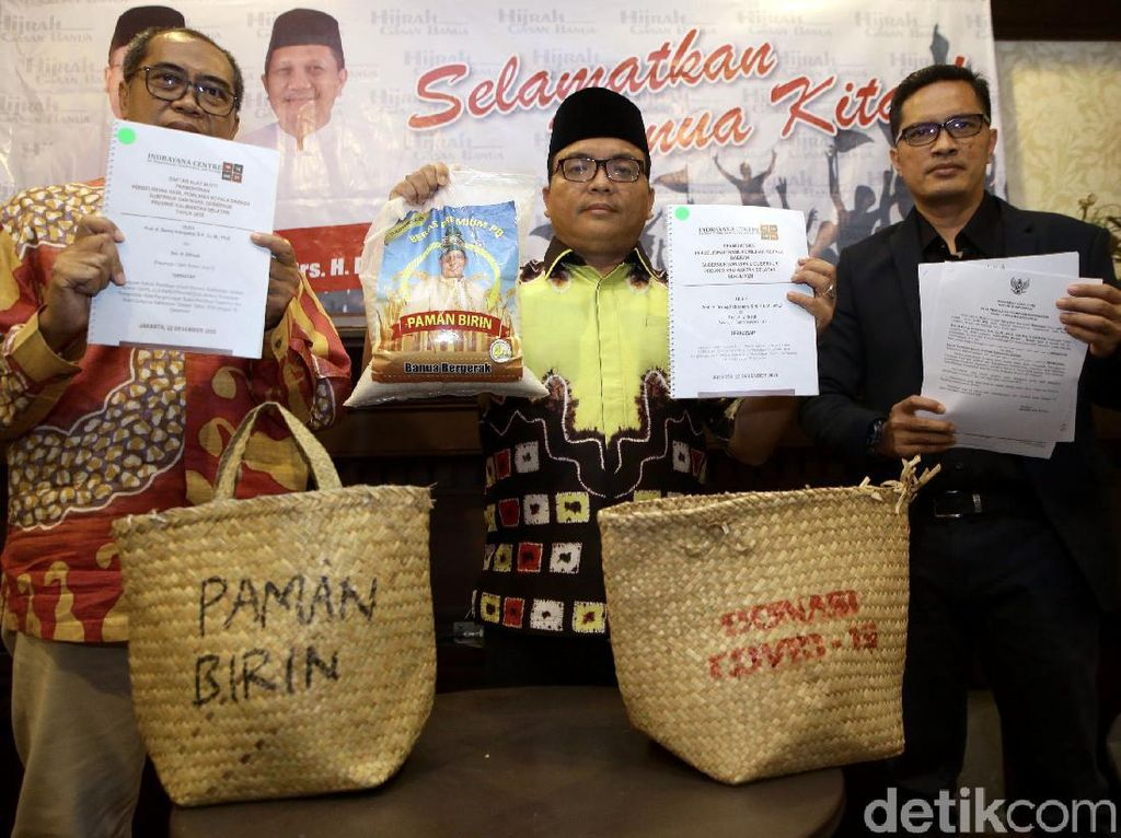 Denny Indrayana Gugat Hasil Pilkada Kalsel ke MK