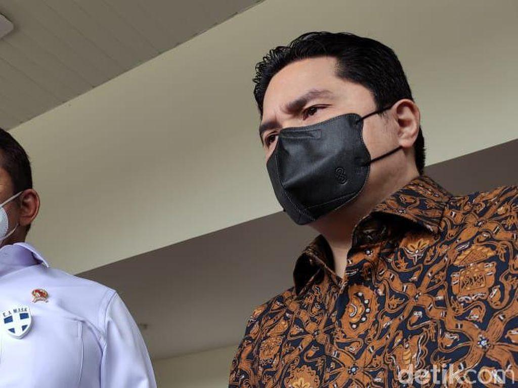 Kerugian Korupsi Asabri Terkuak Rp 17 T, Erick Thohir Langsung ke Kejagung