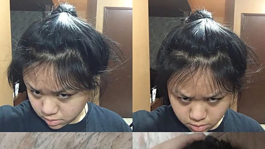 10 Foto Kocak Gagal Potong Rambut Sendiri di Rumah saat Pandemi Corona