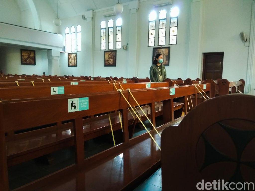 Sambut Natal, Gereja di Cimahi Siapkan Protokol Kesehatan COVID-19