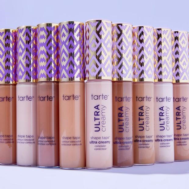 Tarte Cosmetics merilis produk concealer terbaru untuk kulit kering, yakni Shape Tape Ultra Creamy Concealer.