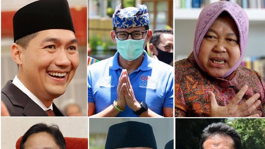 Reshuffle Kabinet, Ini Dia 6 Menteri Baru Jokowi-Maruf