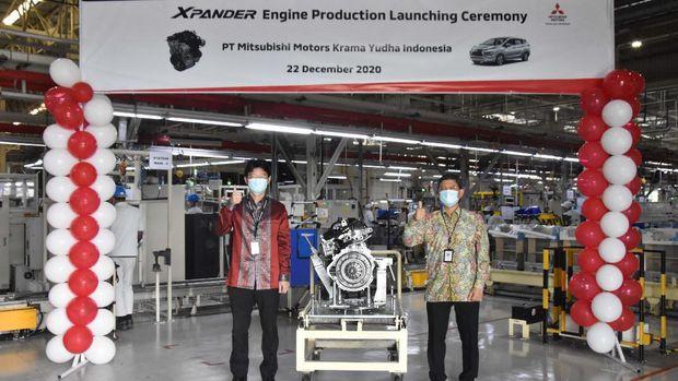 Mitsubishi Motors Krama Yudha Indonesia (MMKI), mengumumkan pada Selasa (22/12), telah resmi memulai produksi mesin 1.500 cc Xpander.