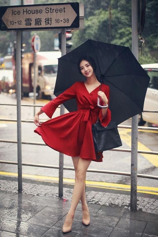 Red dress untuk Natal