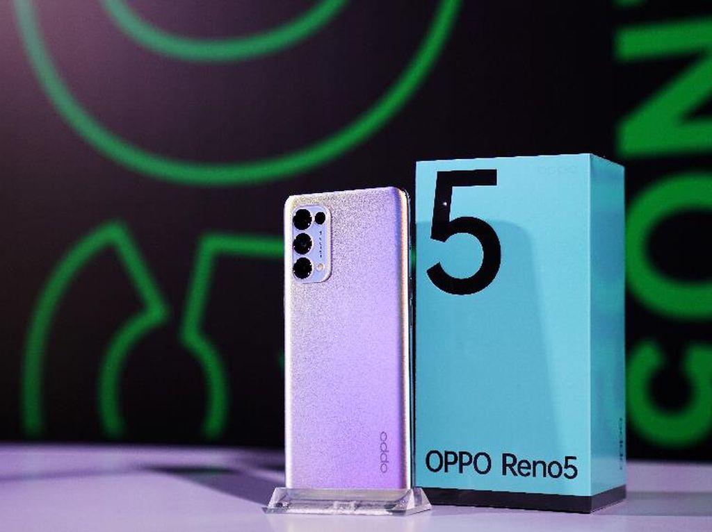 Ini Spesifikasi Lengkap Oppo Reno5 yang Dirilis 12 Januari