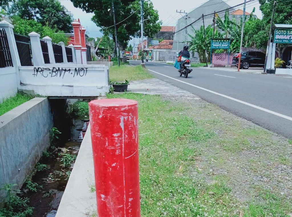 Lahan di Jalan Klaten-Boyolali Kena Proyek Exit Tol Yogyakarta-Solo