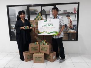 Hari Ibu, Kalbe Gaet Yayasan Anne Avantie Donasi Ribuan Promag Herbal