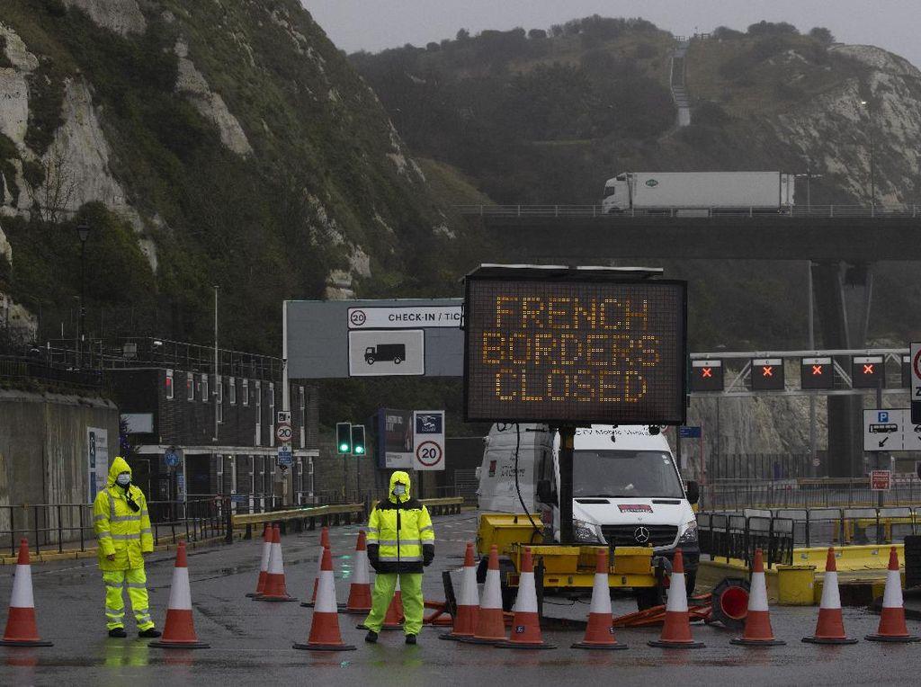 Prancis Buka Blokade Larangan Perjalanan dari Inggris