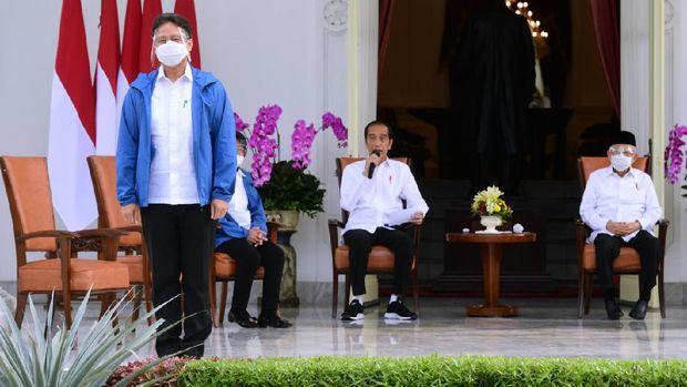 Presiden Jokowi mengumumkan Budi Gunadi Sadikin menjadi Menteri Kesehatan di Kabinet Indonesia Maju.