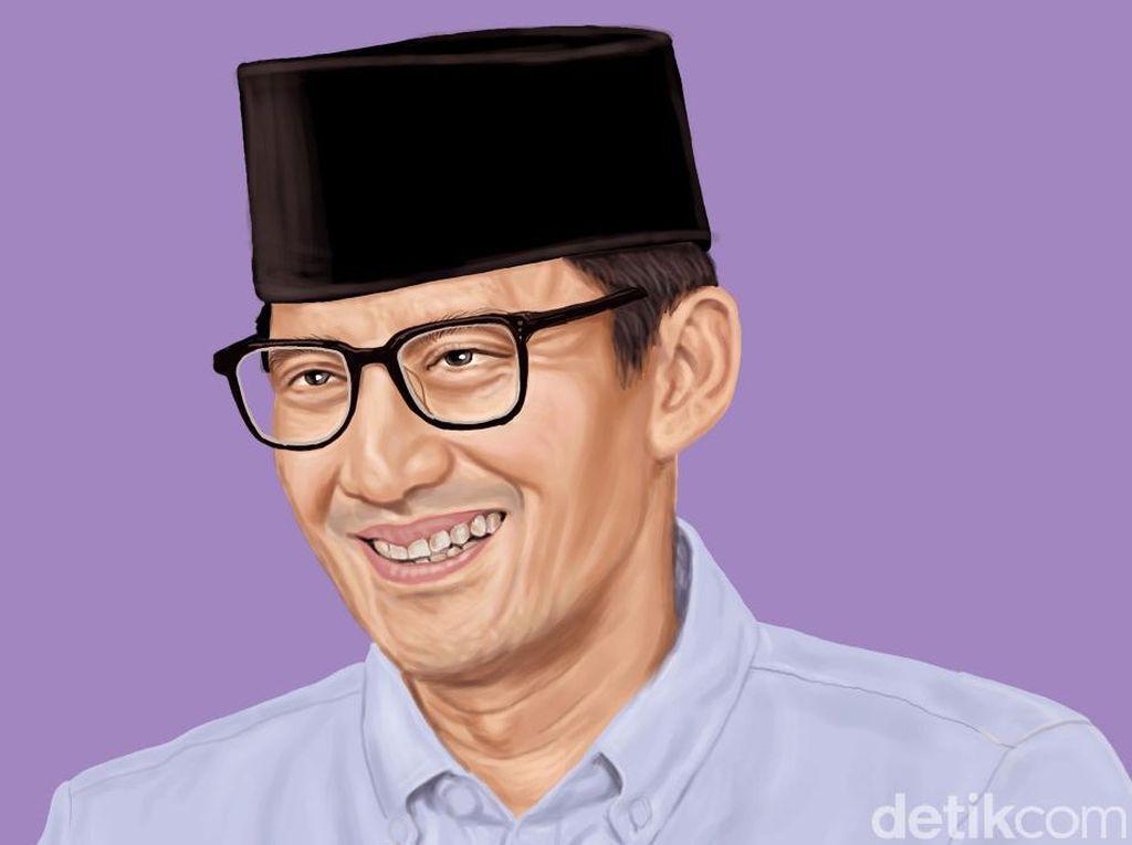 Menakar Kiprah Sandiaga yang Namanya Masuk Kabinet Capres 2024