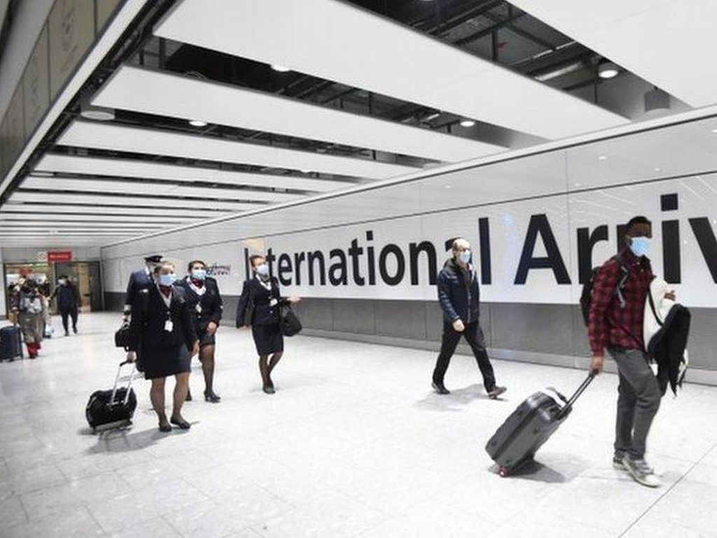 Inggris Larang Penerbangan dari UEA Mulai Hari Ini
