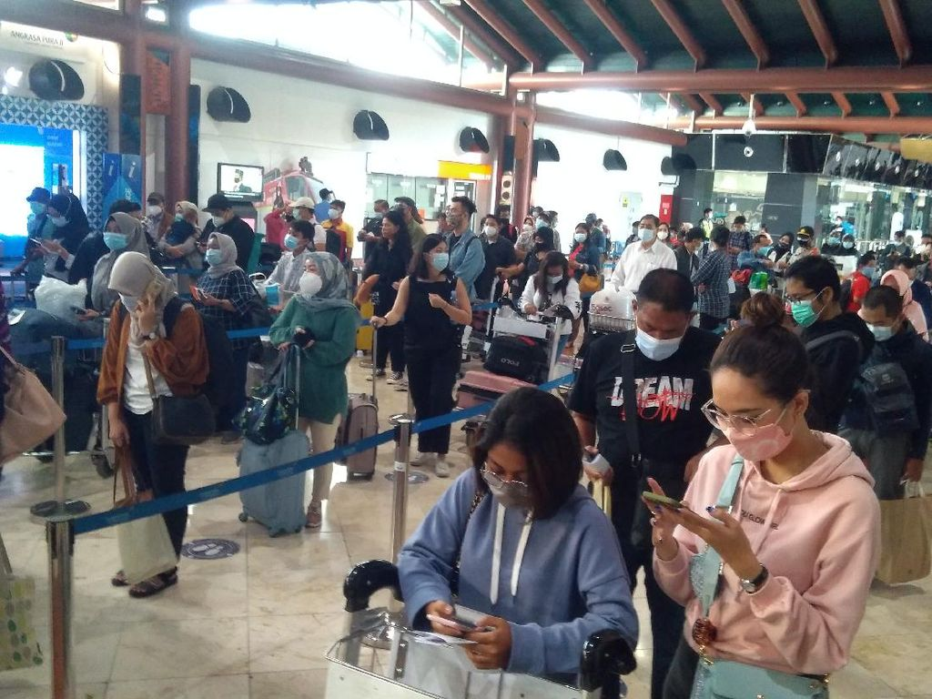 Penumpang dari Bandara PT AP II Capai 735 Ribu pada 18-23 Desember