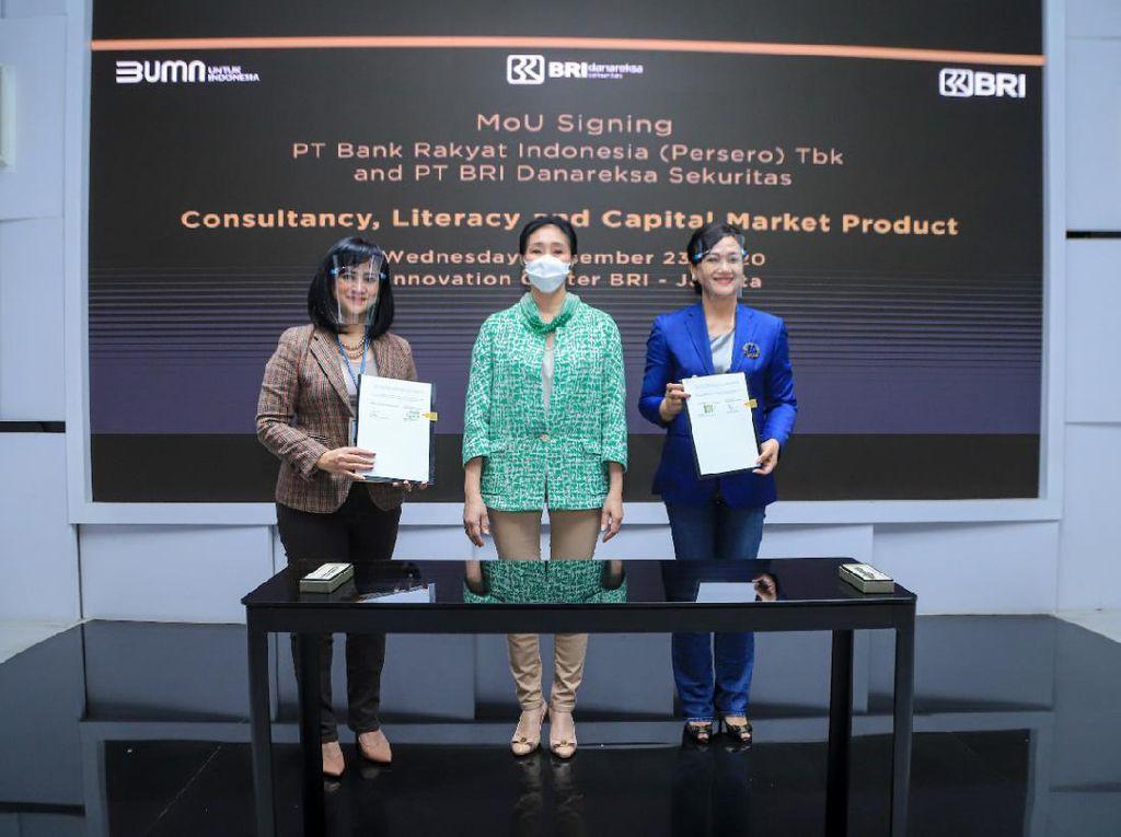 BRI Gandeng BRIDS Perkuat Pemasaran Produk Pasar Modal