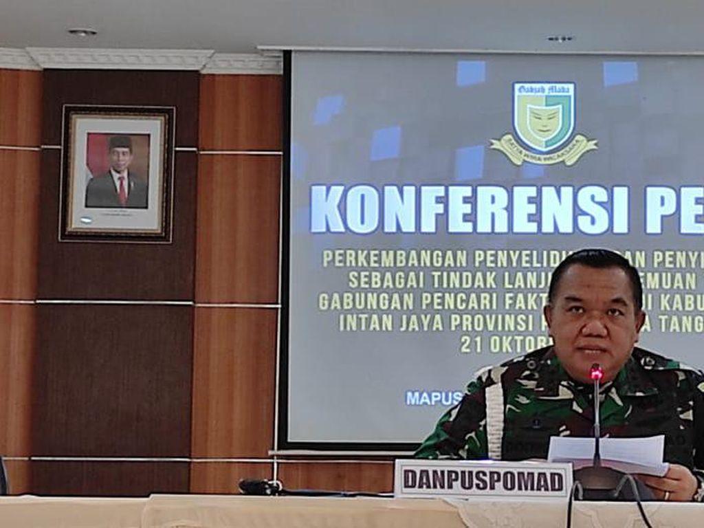 9 Oknum TNI Tersangka Bakar Jenazah Warga Papua, Status 3 Lainnya Didalami