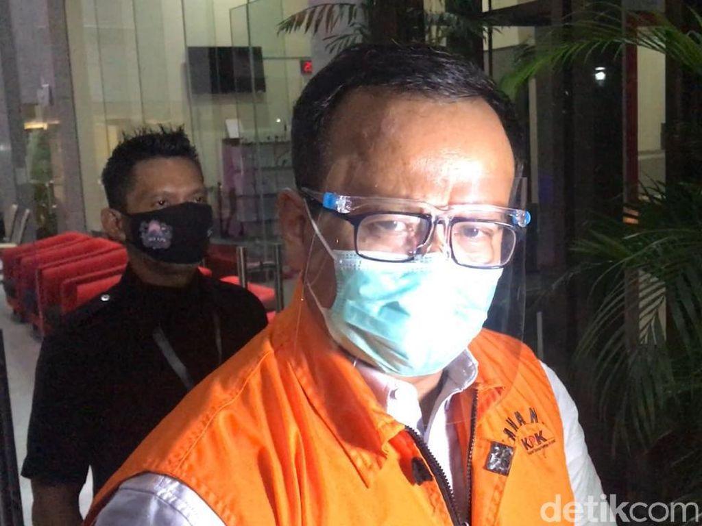 Edhy Prabowo Ucapkan Selamat ke Menteri KKP Baru: Saya Percaya Pak Trenggono