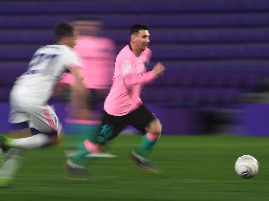Bagaimana Caranya Kejar Rekor 644 Gol Messi di Barcelona?