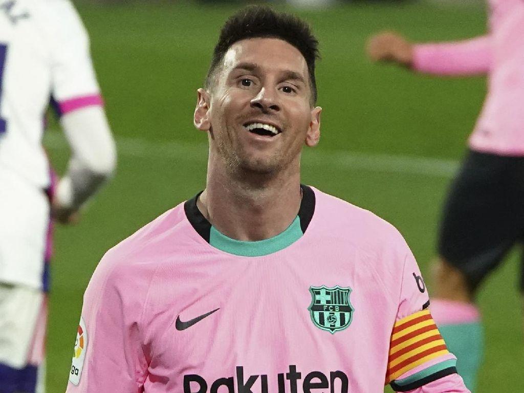 Lionel Messi Gak Nyangka Bisa Salip Rekor Gol Pele