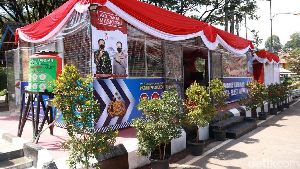Melihat Persiapan Pos Pelayanan Nataru di Nagreg Bandung