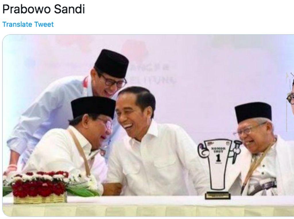 Prabowo-Sandi di Kabinet Jokowi, PKS: Bisa Melemahkan Demokrasi