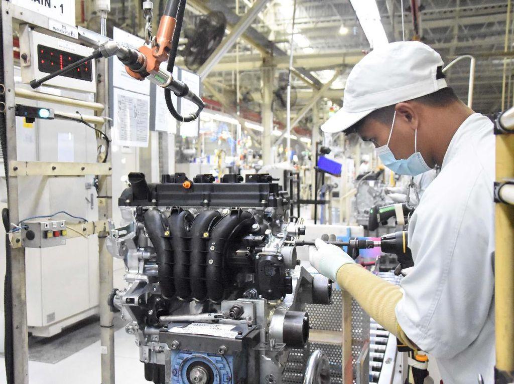 Mitsubishi Mulai Produksi Mesin Xpander di Indonesia