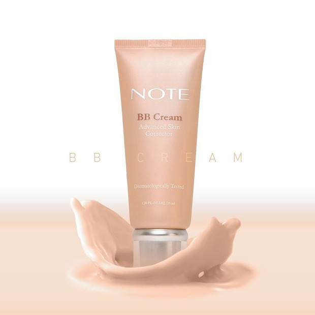 Note Cosmetics BB Cream/Sumber:instagram.com/notecosmeticsid/