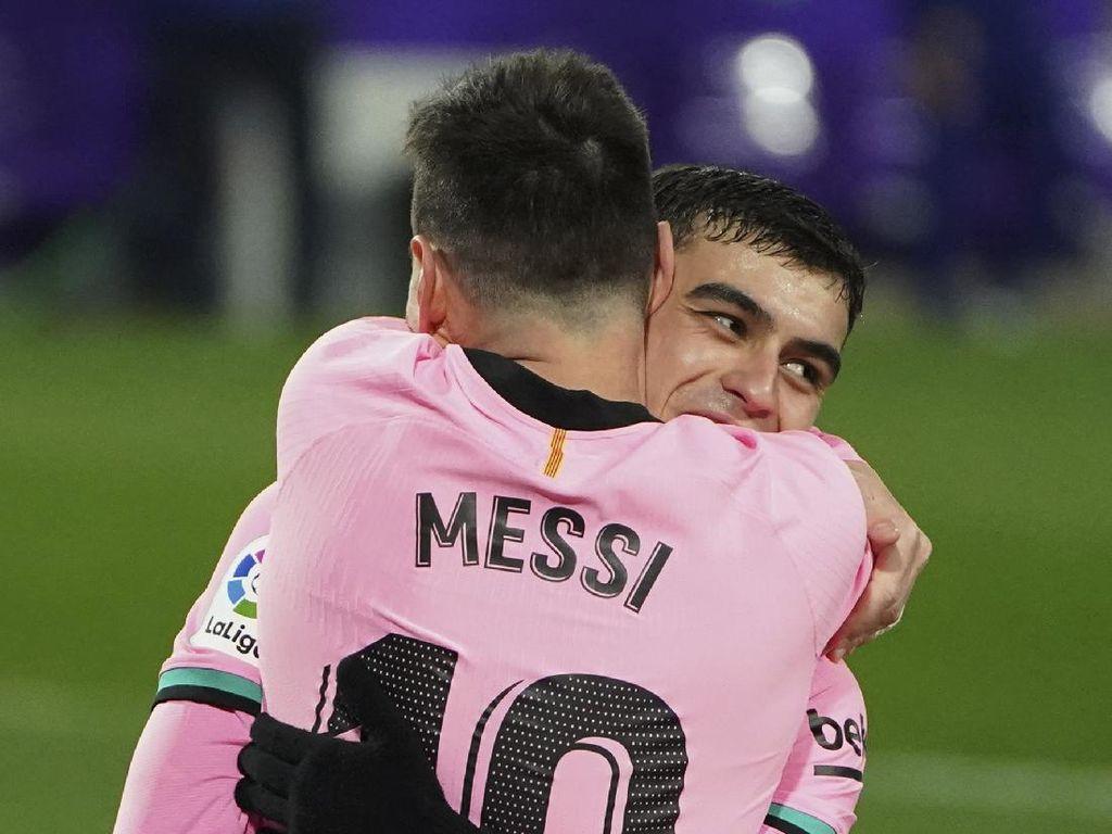 Pedri Tahu Apa yang Messi Mau