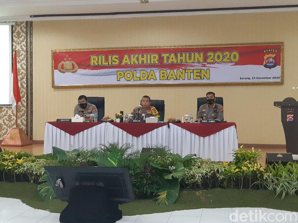 Kasus Kejahatan di Banten Meningkat Selama 2020, Imbas Pandemi?