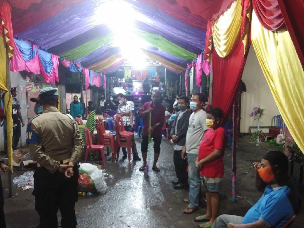 Tak Ada Izin Keramaian-Langgar Prokes, Pesta Nikah di Makassar Dibubarkan
