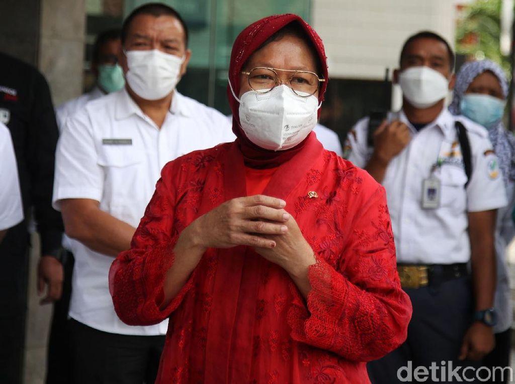 Risma Janji Kemensos Bakal Bantu Keluarga Korban Sriwijaya Air