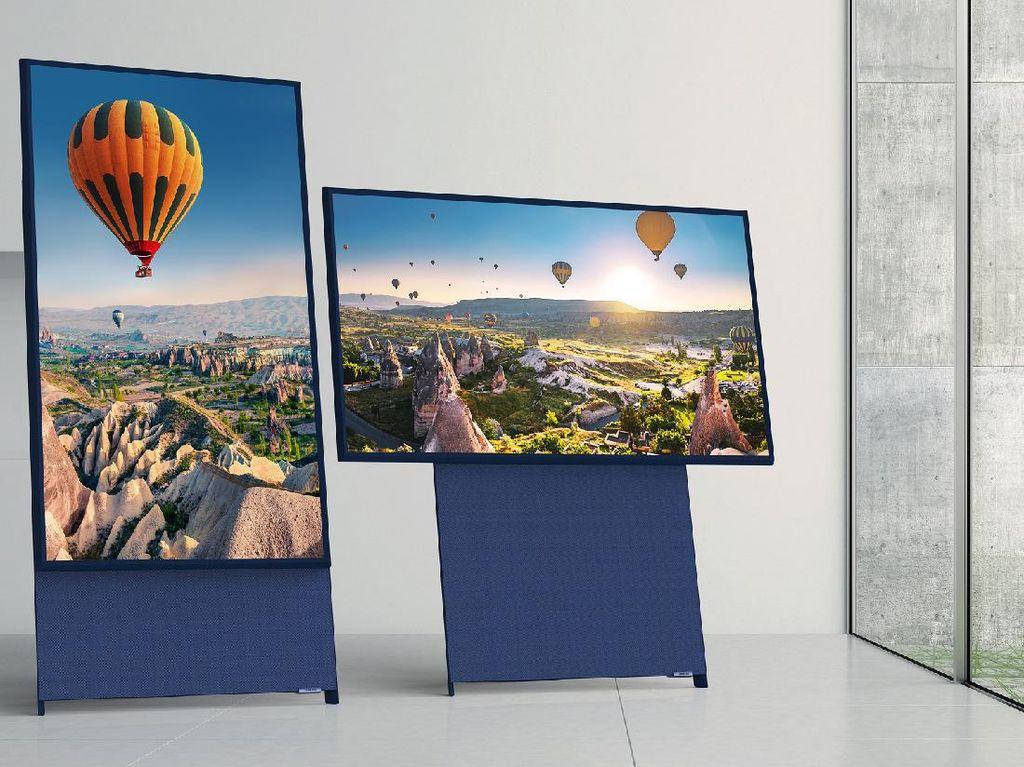 Masuk Indonesia, TV Vertikal Samsung The Sero Dijual Rp 19 Juta