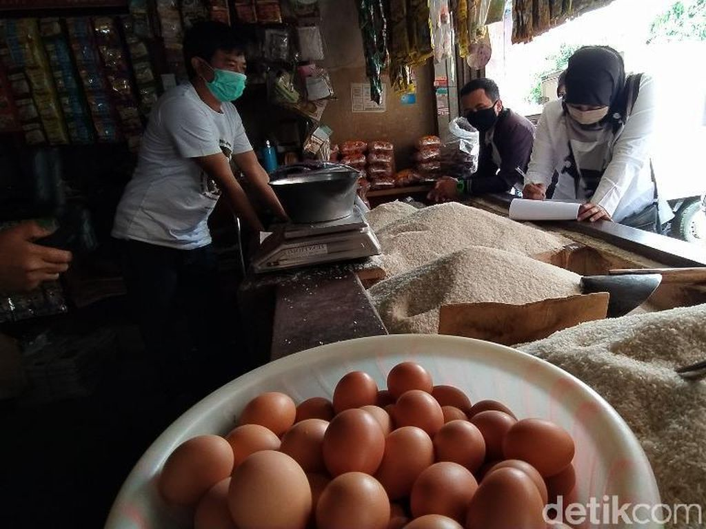 Harga Telur dan Daging Ayam Naik di Ciamis Jelang Akhir Tahun
