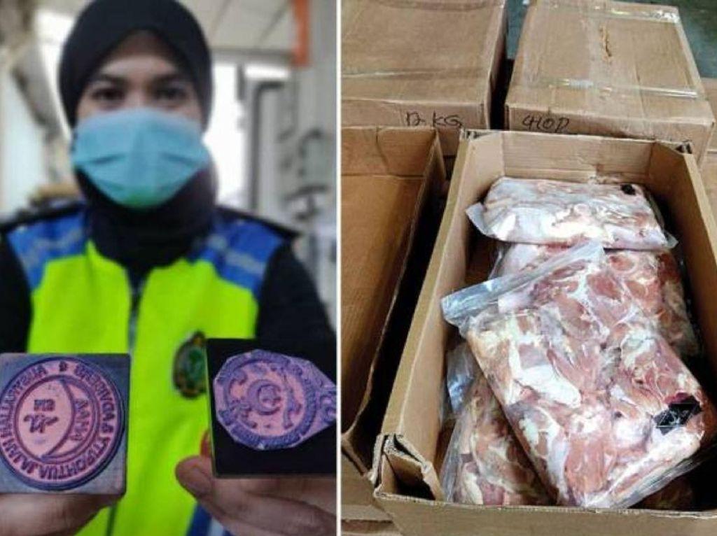 Order Makanan via Ojol Rp 55 Juta hingga Sindikat Daging Halal Oplosan Terbongkar
