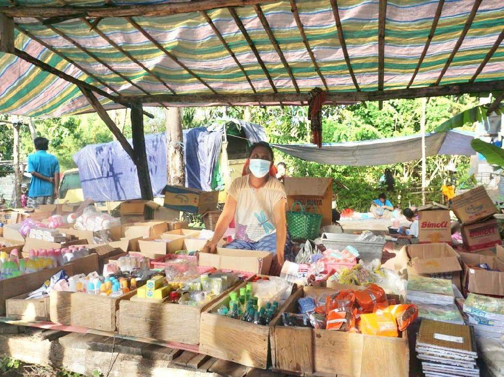 Dagang Sembako di Pasar Alas, Ibu Ini Bisa Cuan Rp 3 Jutaan/Hari