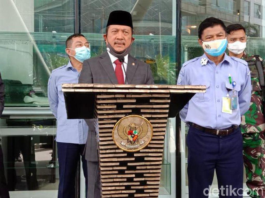 Menteri KP Trenggono Cek Pelabuhan Ikan Muara Angke Hari Ini