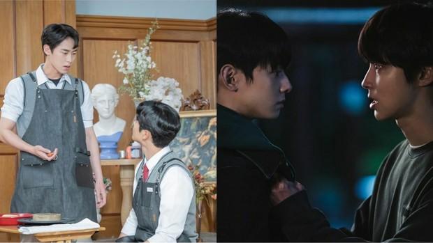 Baek Kyung vs Haru dan Suho vs Seojun/Foto: instagram.com/tvndrama.official dan instagram.com/mbcdrama_now