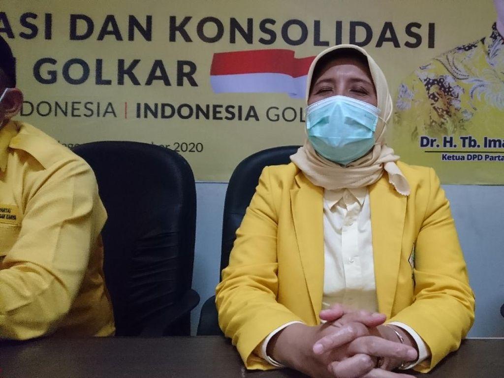 Kalah di Pilwakot, Ratu Ati Jadi Ketua DPD Golkar Cilegon