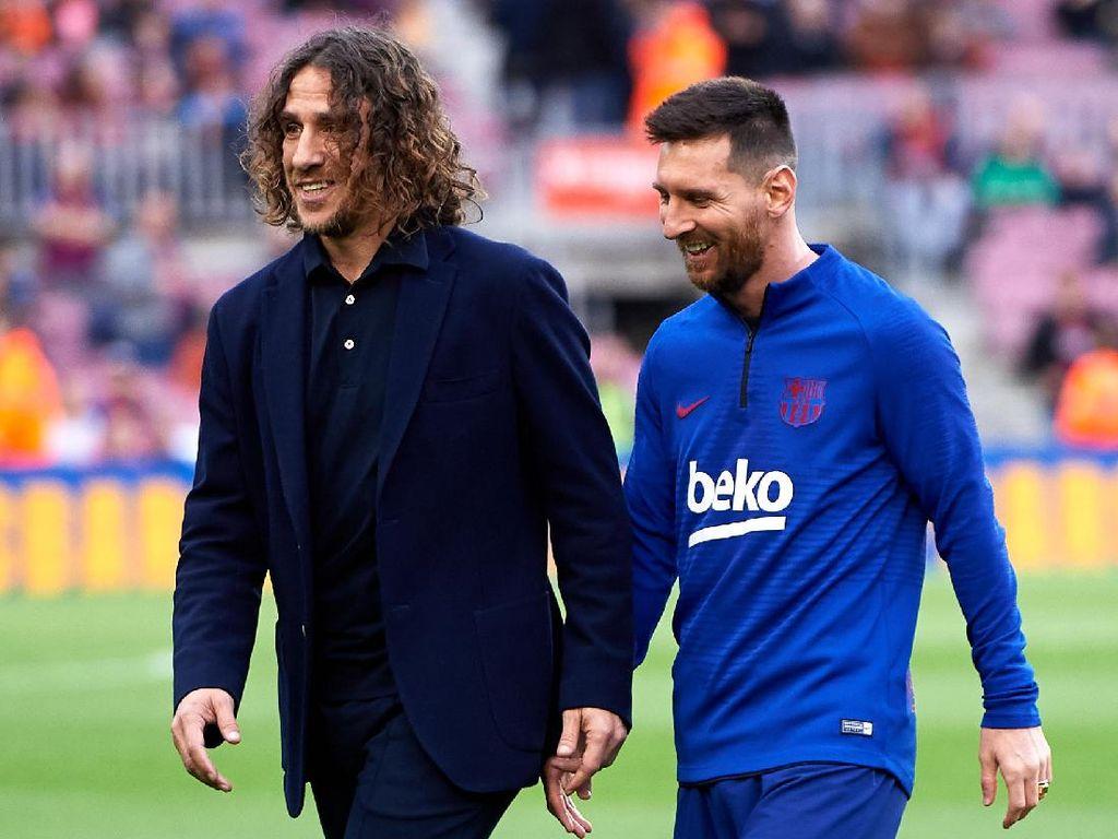 Puyol: Messi Lebih Baik Bertahan Saja di Barcelona