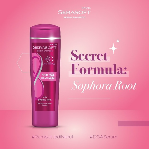 Serasoft Serum Shampoo Hair Fall Treatment