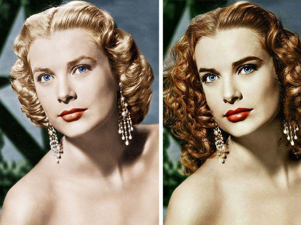 Begini Jadinya Kalau Makeup Foto Jadul Diubah Modern
