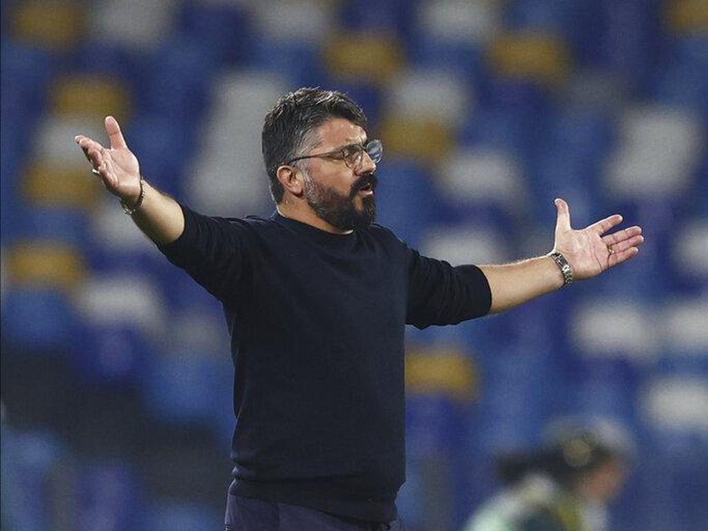 Napoli Vs Juventus Jadi Kesempatan Terakhir Gennaro Gattuso?