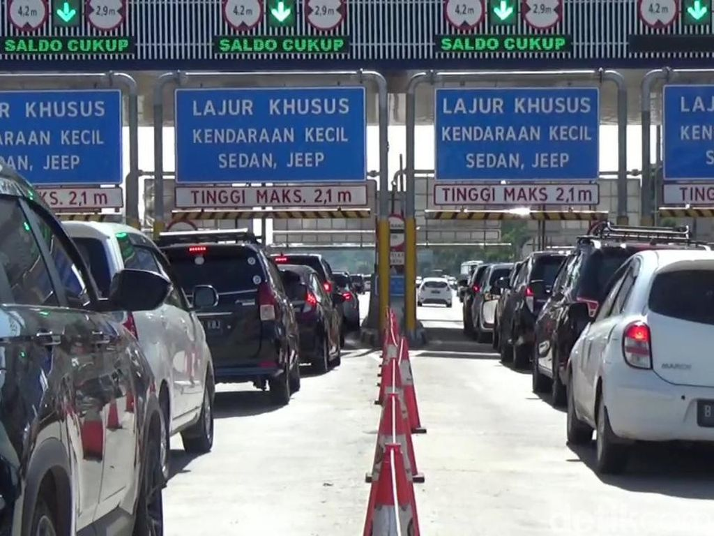 Arus Balik Libur Natal, 125.217 Kendaraan Menuju Jakarta via Tol