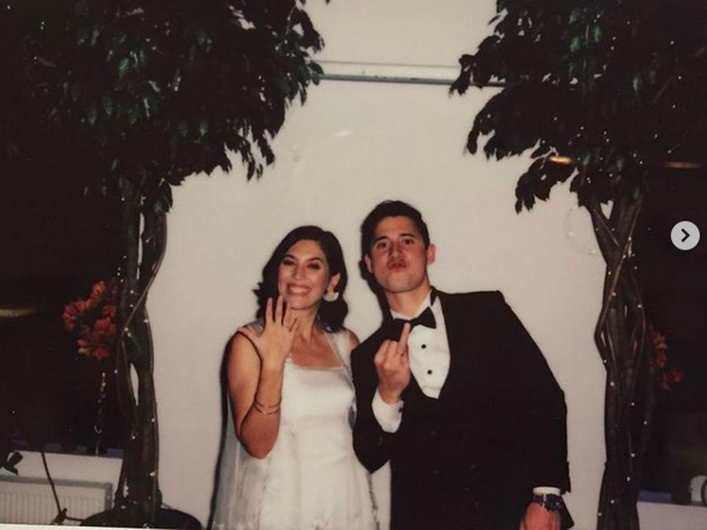 Momen Bahagia Hannah Al Rashid dan Nino Fernandez Menikah