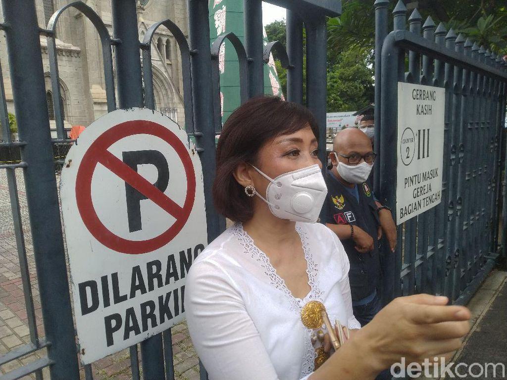 Begini Misa Natal Gereja Katedral Jakarta di Tengah Pandemi