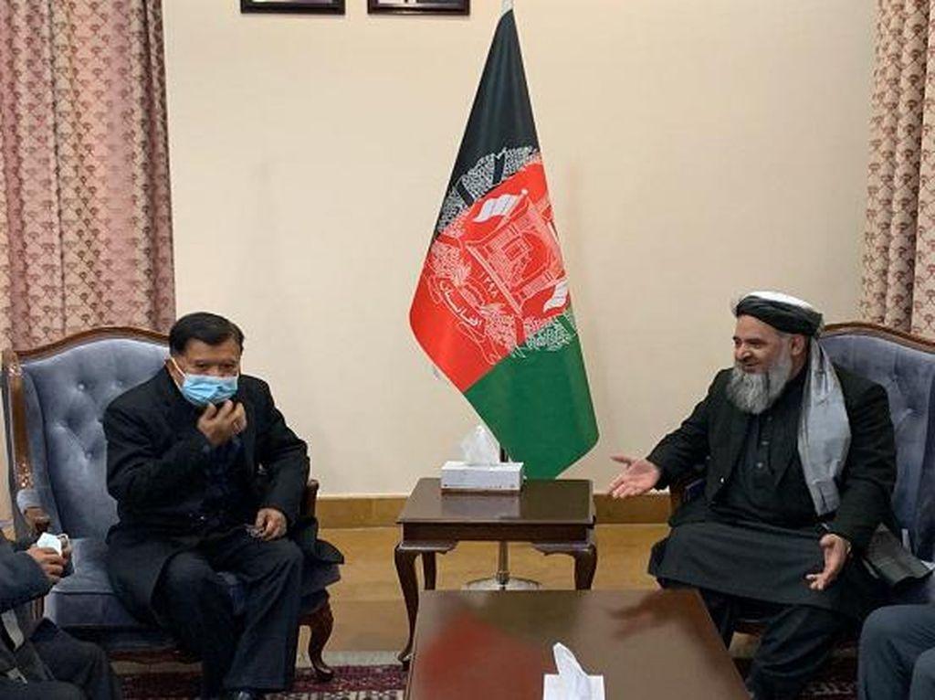 Diminta Fasilitasi Perdamaian Afganistan-Taliban, JK Akan Lapor Maruf
