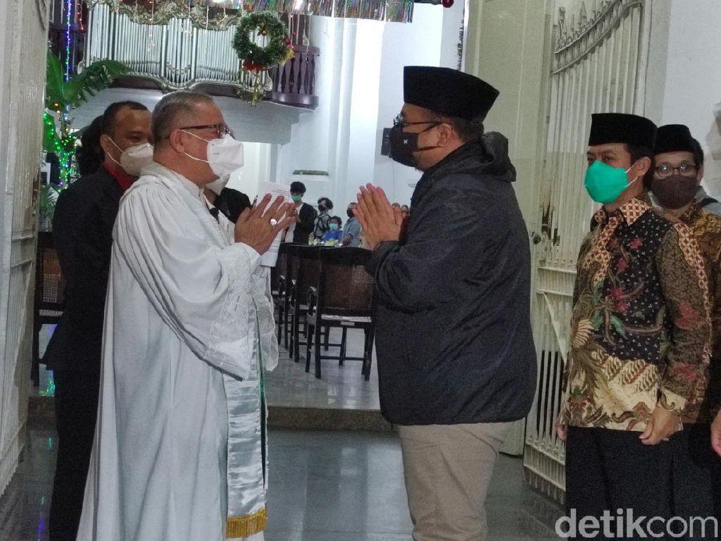 Menag Yaqut Bicara Menteri Semua Agama di Gereja Blenduk Tuai Pujian