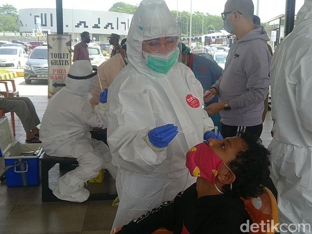 Di Rest Area Tol Batang Ini, Pemudik Bisa Rapid Test Antigen Gratis