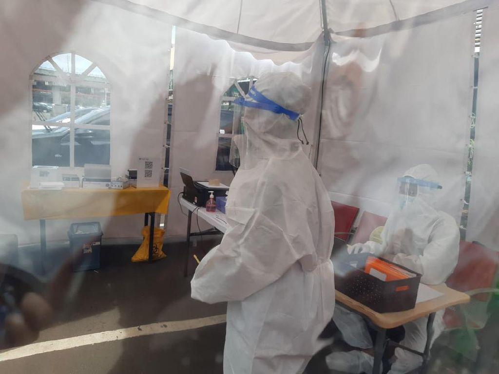 Begini Situasi Rapid Test Antigen di Bandara Soetta