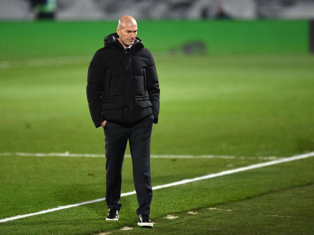 Sebalnya Zidane Melihat Real Madrid Gagal Kalahkan Elche